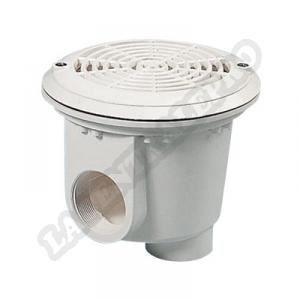 Bonde de fond piscine liner bl211 blanc achat vente for Liner blanc piscine