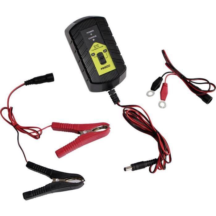 prouser chargeur automatique chargeur de batterie intelligent 1 5 a bc150n 12 v achat vente. Black Bedroom Furniture Sets. Home Design Ideas