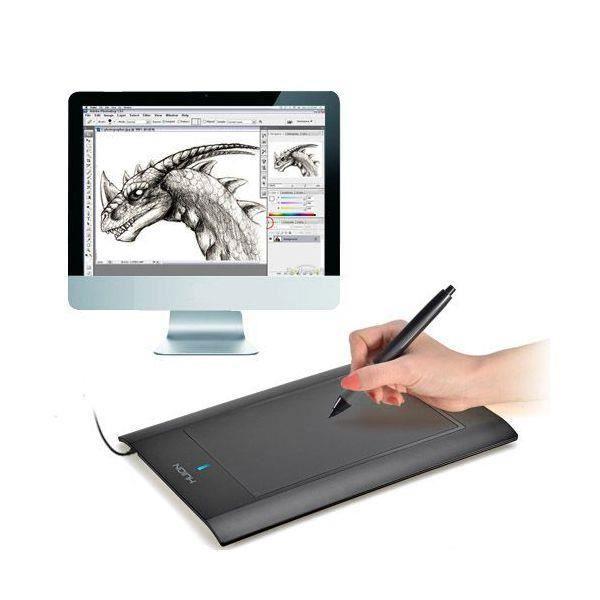 tablette graphique 12 pouces dessin 3d digital prix pas cher cdiscount. Black Bedroom Furniture Sets. Home Design Ideas