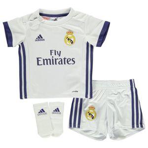 MAILLOT DE FOOTBALL Nouveau Mini-Kit Officiel Bébé Adidas Real de Madr