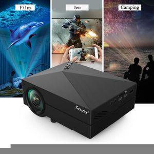 Vidéoprojecteur TECHSTICK® Vidéoprojecteur GM60A Wifi LED HD 1080P