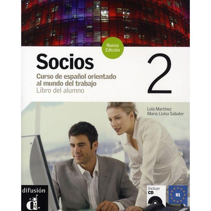 Socios 2 libro del alumno + cd nouvelle edition Achat / Vente on ...