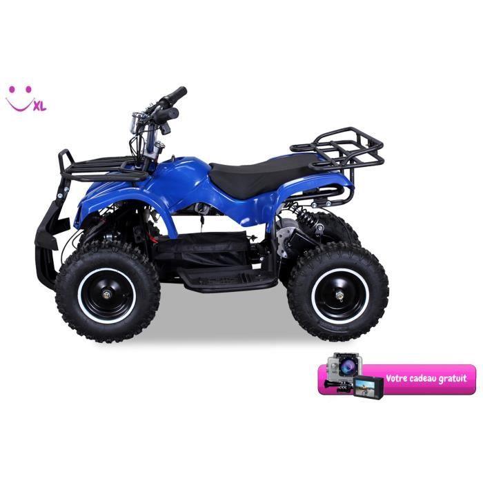 Mini Quad Enfant : mini quad pour enfant torino 800 watt bleu cadeau achat vente quad kart buggy ~ Mglfilm.com Idées de Décoration