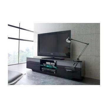 Meuble tv hifi design banc de salon cuisine int rieur pas for Meuble de cuisine noir laque pas cher