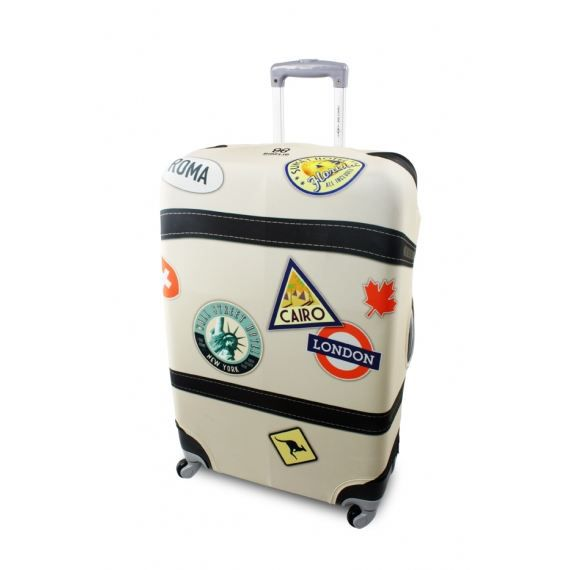 Housse de protection pour valise stickers achat for Housse protection valise