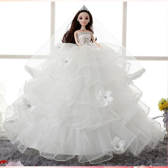 3d vrai oeil poup e barbie mariage achat vente poup e cdiscount - Image barbie et ken ...