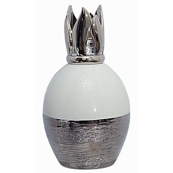 lampe berger effet d 39 argent blanche 4318 achat vente diffuseur de parfum cdiscount. Black Bedroom Furniture Sets. Home Design Ideas