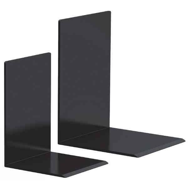 serre livres en plastique noir 50 x 100 x 100 mm achat vente serre livres plastique. Black Bedroom Furniture Sets. Home Design Ideas