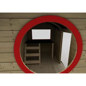 cabane en bois achat vente jeux et jouets pas chers. Black Bedroom Furniture Sets. Home Design Ideas