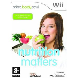 JEUX WII Mind Body Soul : Nutrition Matters [import angl…