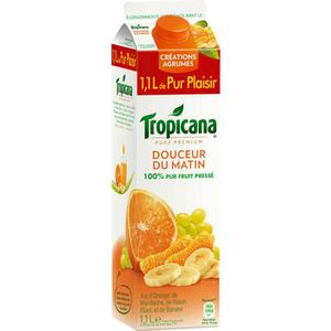 TROPICANA Pure premium Douceur du matin 1,10l