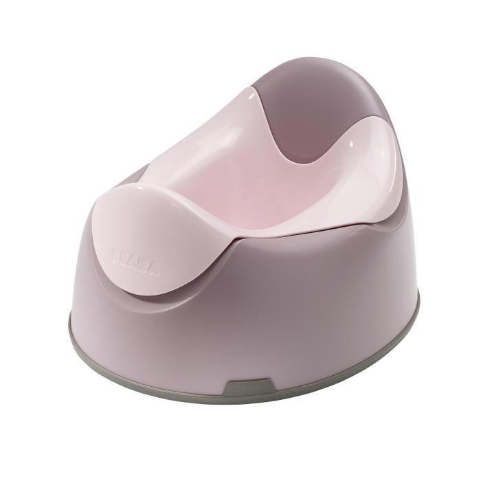 beaba pot b b ergonomique poudr rose rose poudr et. Black Bedroom Furniture Sets. Home Design Ideas