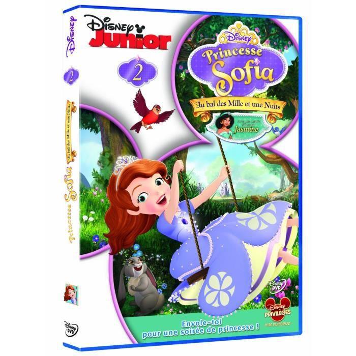Dvd princesse sofia au bal des mille et une nuits en dvd - Princesse sofia et ariel ...