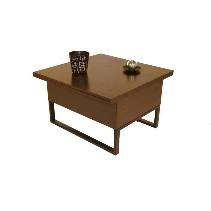Table basse relevable allonges new viper weng achat - Table basse relevable new york ...