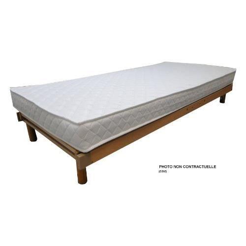 matelas mousse erable 120x190 achat vente matelas. Black Bedroom Furniture Sets. Home Design Ideas