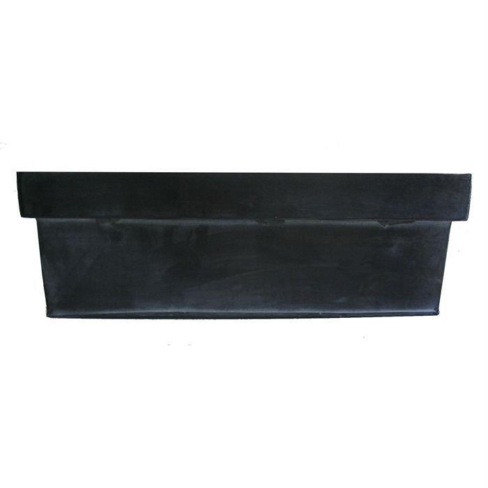 petite jardini re en zinc noir achat vente jardini re. Black Bedroom Furniture Sets. Home Design Ideas