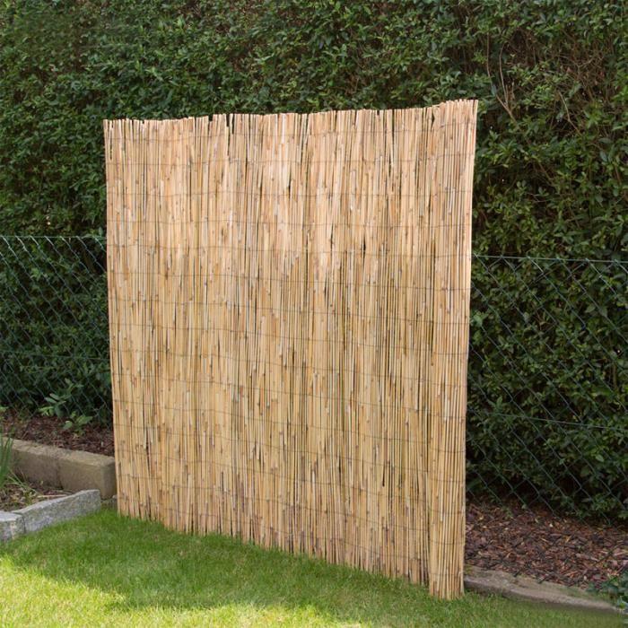 latest palissade bambou naturel achat vente palissade bambou naturel with palissade bambou pas cher. Black Bedroom Furniture Sets. Home Design Ideas