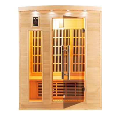sauna infrarouge apollon 3 places achat vente kit. Black Bedroom Furniture Sets. Home Design Ideas