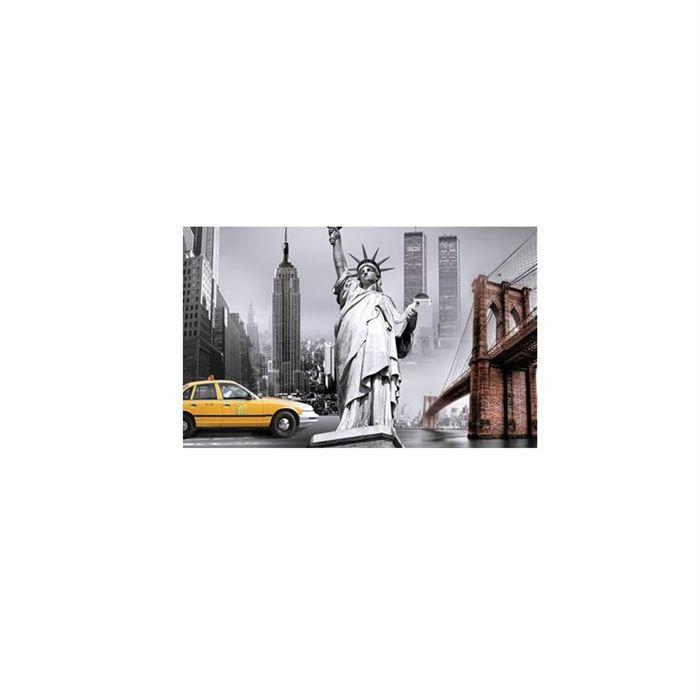 cadre 50 x 70 cm n y paris london 03 achat vente tableau toile cadre 50x70 cm cdiscount. Black Bedroom Furniture Sets. Home Design Ideas