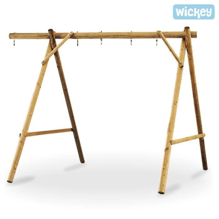 balan oire en bois pour 2 agr s achat vente balan oire portique cdiscount. Black Bedroom Furniture Sets. Home Design Ideas