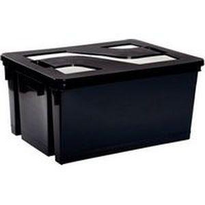 bac de rangement avec couvercle achat vente bac de rangement outils cdiscount. Black Bedroom Furniture Sets. Home Design Ideas