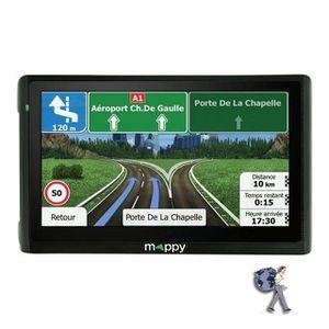 """MAPPY MAXI E618, GPS 6"""", 14 pays - Cartes gratuites à vie"""