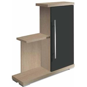meuble etagere avec portes achat vente meuble etagere avec portes pas cher cdiscount. Black Bedroom Furniture Sets. Home Design Ideas