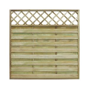 panneau de cloture carre en bois achat vente panneau de cloture carre en bois pas cher. Black Bedroom Furniture Sets. Home Design Ideas