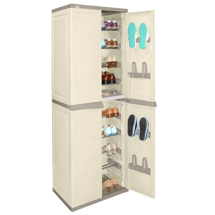 Allibert armoire de rangement haute harmony achat - Meuble de rangement bricolage ...