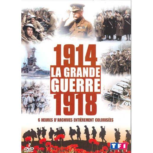 Dvd documentaire dvd la premiere guerre mondiale en couleurs