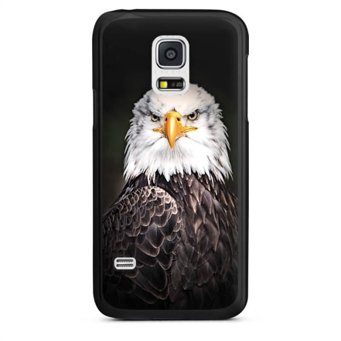 samsung galaxy s5 mini null coque dure noir eagle. Black Bedroom Furniture Sets. Home Design Ideas