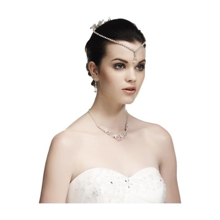 accessoire coiffure mariage avec pendentif en c achat. Black Bedroom Furniture Sets. Home Design Ideas