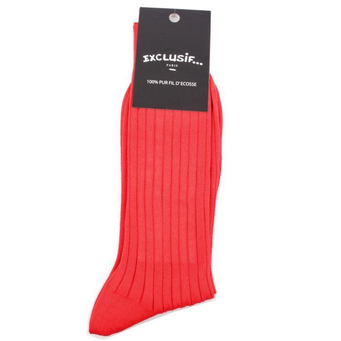 exclusif paris chaussettes homme c tel e rouge rouge achat vente chaussettes cdiscount. Black Bedroom Furniture Sets. Home Design Ideas