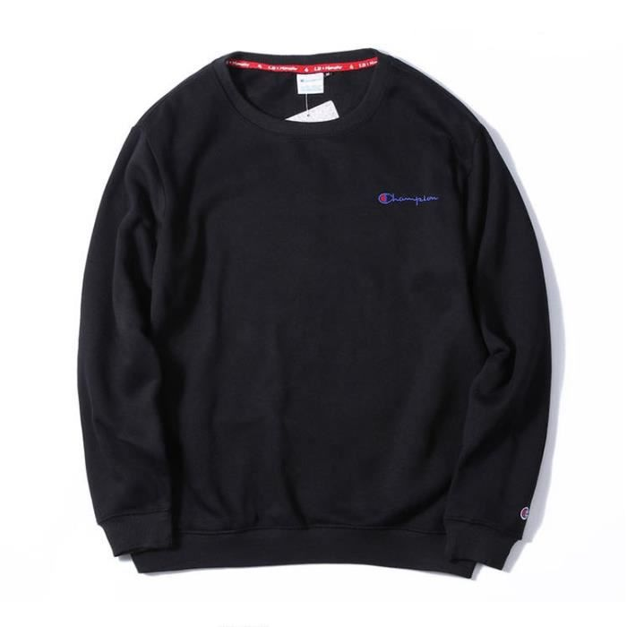 champion sweat shirt pull over homme femme hoodies hooded hip hop col rond manche longue automne. Black Bedroom Furniture Sets. Home Design Ideas