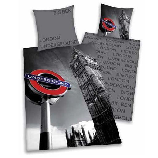 Couette design london 200 x 200 cm - Housse de couette 1 personne london ...