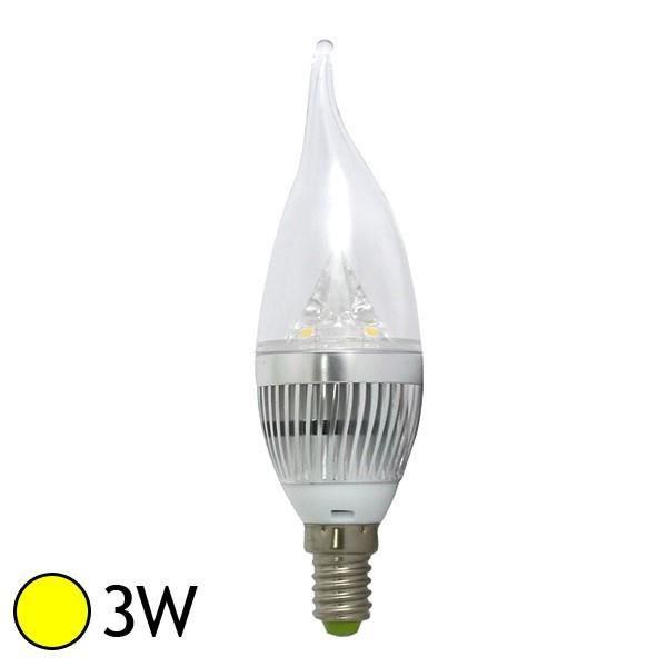 ampoule led 3w e14 flamme blanc chaud achat vente ampoule led 3w e14 flamme cdiscount. Black Bedroom Furniture Sets. Home Design Ideas