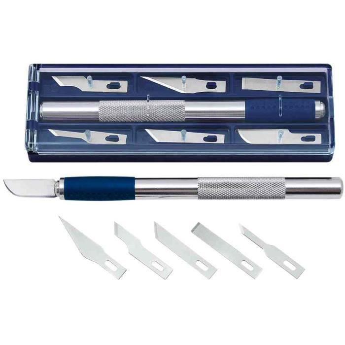 Kit couteau de bricolage longueur 150 mm incl achat vente cutter lois - Vente privee de bricolage ...