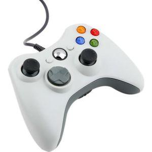 CONSOLE XBOX 360 USB filaire Manette de jeu Xbox 360 Blanc
