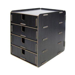 boite de rangement tiroir a4 achat vente boite de rangement tiroir a4 pas cher les soldes. Black Bedroom Furniture Sets. Home Design Ideas