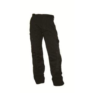 PANTALON PRO Pantalon de travail poche genouillère Free2be noir