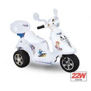 mini scooter lectrique pour enfant blanc achat vente moto scooter cdiscount. Black Bedroom Furniture Sets. Home Design Ideas