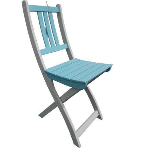 Chaise de jardin pliante en bois lot de 2 muscade for Chaise jardin en bois