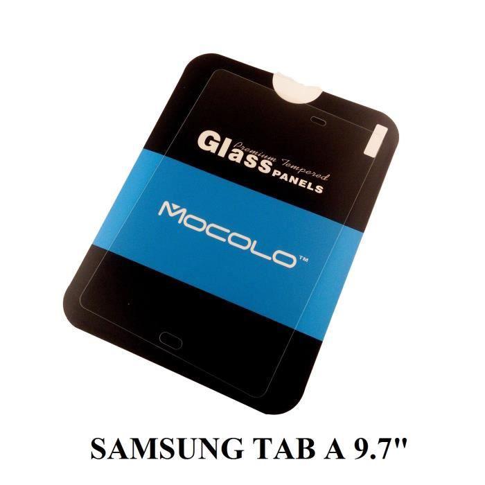 Film verre tremp mocolo pour samsung galaxy tab a 9 7 pouces achat film p - Tablette verre trempe ...