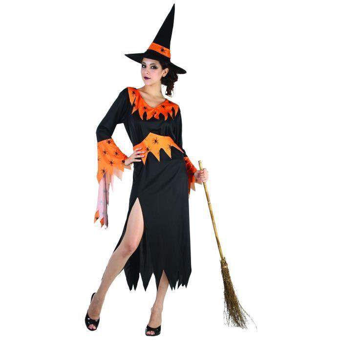 ... femme Halloween - Déguisement sorcière femme Halloween…Voir la