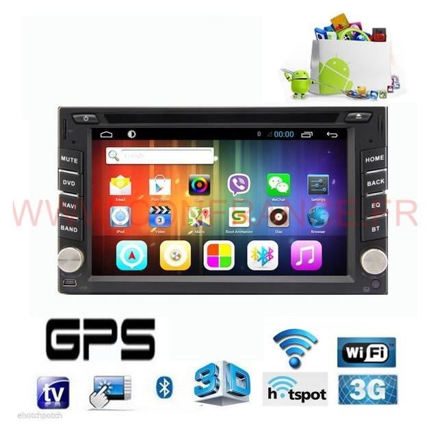 gps double din sp cial camping car android 4 2 tnt wifi. Black Bedroom Furniture Sets. Home Design Ideas