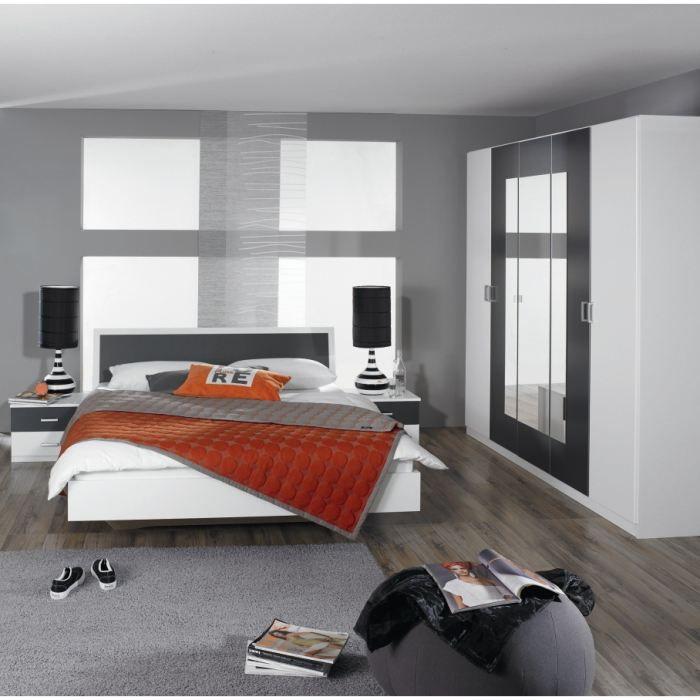 Chambre adulte compl te selenia achat vente chambre for Achat chambre complete
