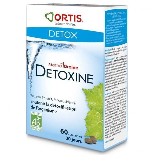 MethodDraine Detoxine Bio - 60 comprimés - Achat / Vente ...