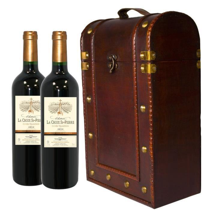 bouteille de vin pour 2