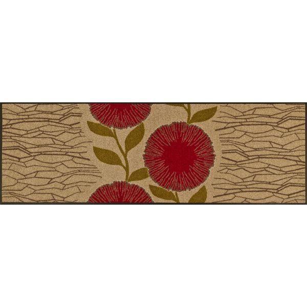 Tapis Design Bloom Beige 60 X 180 Achat Vente Paillasson Cadeaux De No L Cdiscount