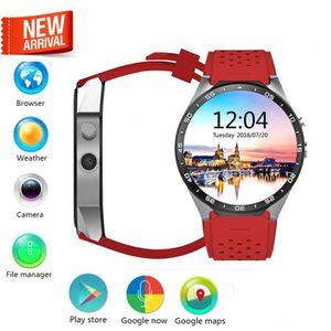MONTRE CONNECTÉE Aihontai KW88 Android 5.1 OS 3G Smart Watch téléph